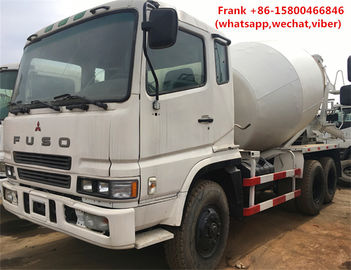 China MITSUBISHI Fuso Used Concrete Mixer Trucks 8m3 Mixing Capacity Diesel Fuel supplier