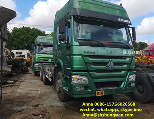 China Heavy Duty 10 Wheeler Used Trailer Head 6800 * 2496 * 3668 Mm ISO Approved supplier