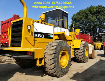 China Tcm 860 5 Ton Old Wheel Loader Manual Transmission For Construction Machine supplier