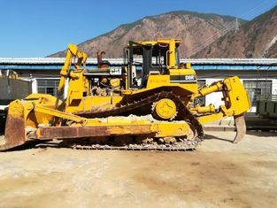 China D8R Second Hand Caterpillar Bulldozer , Used Cat Bulldozer with Blade / ripper supplier