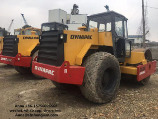 China Construction Machinery Second Hand Road Roller Dynapac CA30D CC211 CA251D supplier