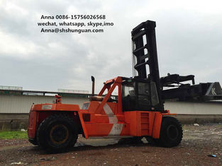 China DCD450-12G Used Container Handler , Shipping Container Lift Truck supplier