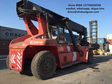 China Unloading Machine Used Container Handler 10050 * 4150 * 3070 Mm Dimensions supplier