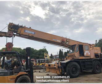 China used 30ton kato rough terrian crane KR300 originally made in japan , just used for 5000 hrs , very good condition supplier