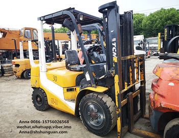 China TCM forklift 3ton FD30 , used FD30T-7 tcm forklift, High quality 3ton Diesel Forklift Truck supplier