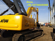China 22 Ton Second Hand Excavator 9750 Mm Max Digging Radius Euro 3 Emission Standard factory
