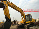 China Manual Transmission Second Hand Komatsu Excavator 125 Kw 168 Hp Engine Power factory