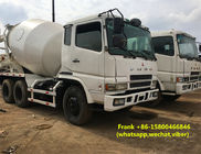Hydraulic Systems Second Hand Concrete Mixer Trucks Good Working Condition