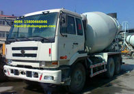 NISSAN UD Used Concrete Mixer Trucks 6 X 4 Driving Type Easy Operating