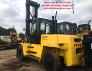 China FD160 Used Diesel Forklift Truck Yellow Color 94 KW Nominal Power factory