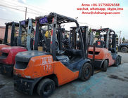 2 Or 3 Stage Mast Toyota Used Industrial Forklift TCM FD30 FD50 3t 5 Ton