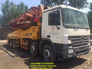 48 Meter Sany Used Concrete Pump Truck 11420 * 2500 * 4000 Mm Diesel Power