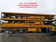 China 40 Tons Payload Used Truck Trailers Leaf Spring Mechanical Suspension factory