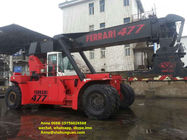 Diesel Engine Used Reachstacker Ferrari Container Reach Stacker 477