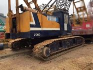 China 65 Ton Used Kobelco Crawler Crane 7065-2 With Lattice Boom Hino Engine company