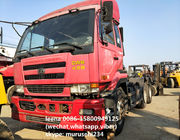China Japanese Diesel Nissan Used Tractor Head Cwb 459 350hp Low Mileage With PTO company