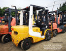 tcm used diesel forklift manual 3 ton isuzu engine with 3000mm mast