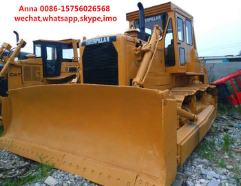 China 4.5m3 Blade Capacity Second Hand Bulldozer , Old Cat Bulldozers / D8K / D8N factory