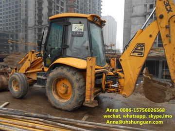 China Hydraulic Systems Used Backhoe Loader 25 Km / H Reverse Speed No Oil Leak factory