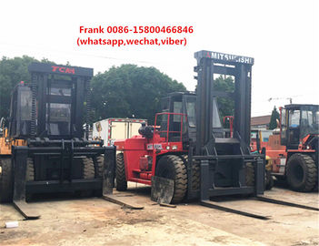 China Mitsubishi 30 Ton Forklift Used Condition 3500 Mm Max Lifting Height distributor