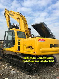 China 5.5 Km / H Max Speed Second Hand Excavator 19980 Kg Rated Load 2006 Year distributor