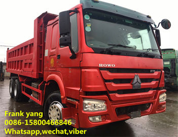 China Howo 336 / Howo 371 Used Dump Trucks 2008 Year Low Fuel Consumption factory