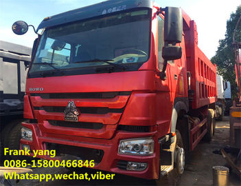 China No Oil Leak Second Hand Dumper Truck , Sinotruk Dump Truck Hydraulic Systems factory