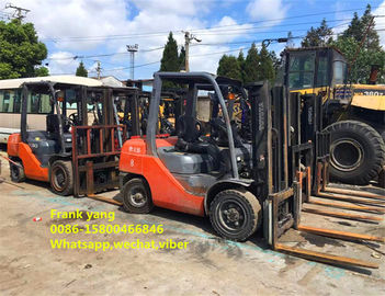 China 8fd30 Second Hand Toyota Forklift 3 Ton 3000 Kg Rated Loading Capacity distributor