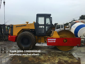 China Stable Second Hand Road Roller , Used Road Roller 10700 Kg Operating Mass distributor