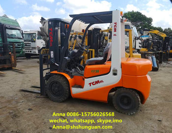 China FD30 Japan TCM 2nd Hand Forklift 3 Ton Diesel Engine With Side Shift factory