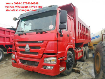 China 25 30 40 Ton Used Howo Dump Truck More Than 8L Engine Capacity Diesel Fuel factory
