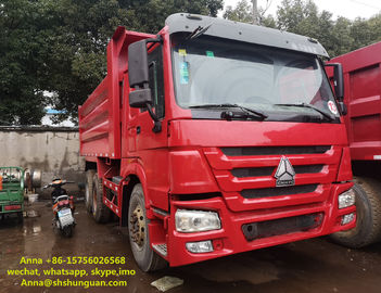 China 20 Cubic Meters Used Commercial Dump Trucks 375 Hp Horse Power CE Standard factory
