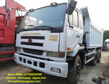 China 2015 Year Nissan 6x4 Dump Truck Used Condition 251 - 350 Hp Horse Power distributor
