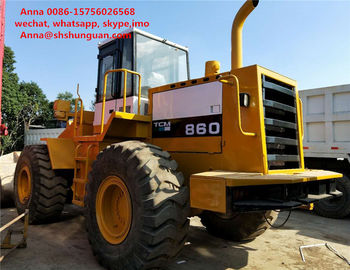 China Heavy Equipment Tcm 860 Payloader Used Condition 3m3 Bucket Capacity factory