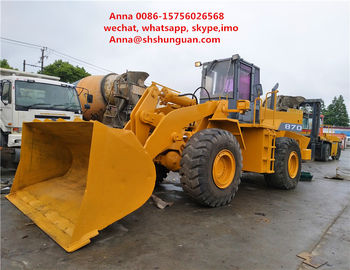 China Original Parts Tcm 870 Wheel Loader , Used Front End Loaders Low Working Hours factory