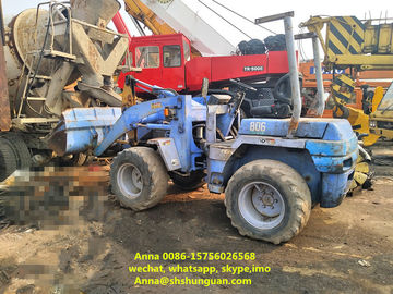 China Economic Used Wheel Loaders , Hydraulic Wheel Loader TCM 806 12 Months Warranty distributor