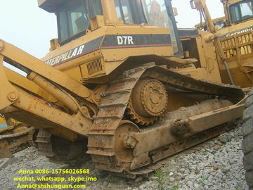 China Diesel Power Source Second Hand Bulldozer Used Cat D7R Crawer Bulldozer distributor