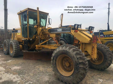 China Stable Performance Used Motor Graders , Used Cat Grader Operate Easily distributor