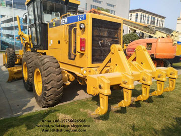 China 210 HP SEM 921 Used Motor Graders Diesel Power Source 15930 KG Weight distributor