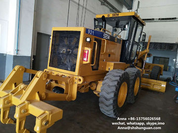 China SEM 921 Used Motor Graders 8854 * 2630 * 3360 Mm With Ripper Blade distributor