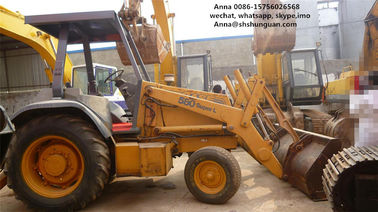 China Euro 3 Used Backhoe Loader , Case 580L Backhoe Loader SGS Approved distributor