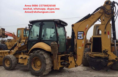 China 420E Used Backhoe Loader , Cat 420e Backhoe Loader 17000 Kg Operating Load distributor