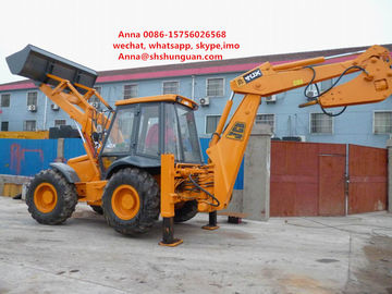 China JCB 4cx Used Backhoe Loader , Backhoe Wheel Loader 7920 * 3050 * 3400 Mm distributor