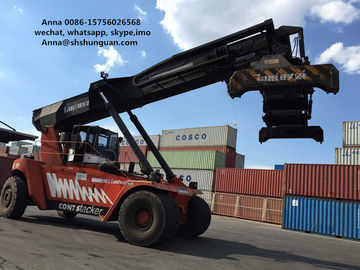 China 45 T Used Reachstacker , Container Lift Truck Excellent Working Condition distributor