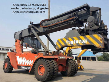China Lifting Equipment 45 Ton Used Reachstacker Manual Pallet Truck Type distributor