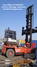 China Euro 3 Used Empty Container Handler Original Container Reach Stacker distributor