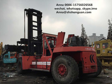 China Kalmar Used Container Handler , 45 Tons Used Container Handling Equipment distributor