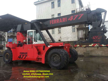 China Diesel Engine Used Reachstacker Ferrari Container Reach Stacker 477 distributor