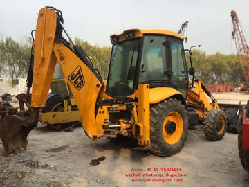 China 4.4 L Displacement Used Jcb 3cx Backhoe Loader 2740 Mm Max Loading Height distributor