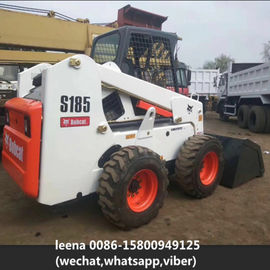 China 2014 Used Bobcat Skid Steer Loaders S185 / Second Hand Wheel Loaders Usa Made factory